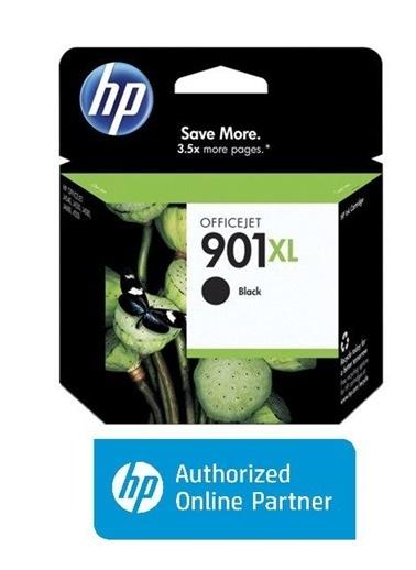 HP HP CC654AE (901XL) SIYAH YUKSEK KAPASITELI MUREKKEP KARTUSU Renkli